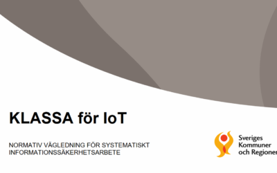 KLASSA för IoT – nu publicerad